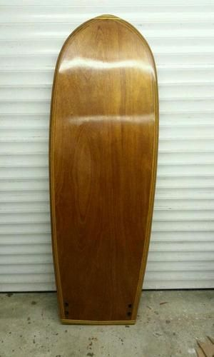Hollow Wood Surfboard 5 10 X 23 1 2 X 2 1 2 Mini Simmons Plywood And Cork My New Board Wood Surfboard Plywood