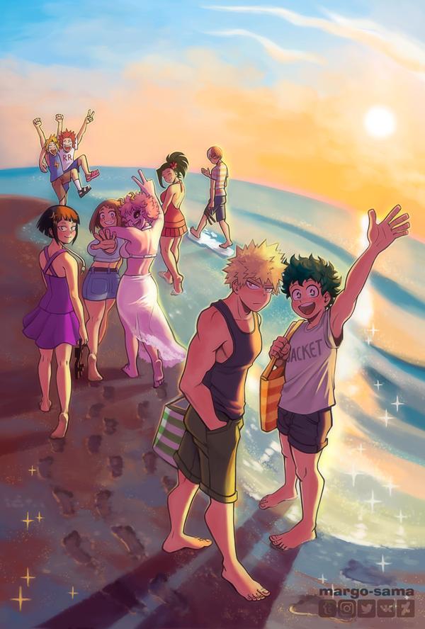 [BNHA] Summer and Sun zine by Margo-sama on DeviantArt