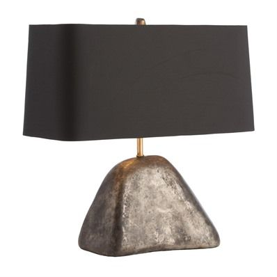 Arteriors sonoma 1 light table lamp in natural iron