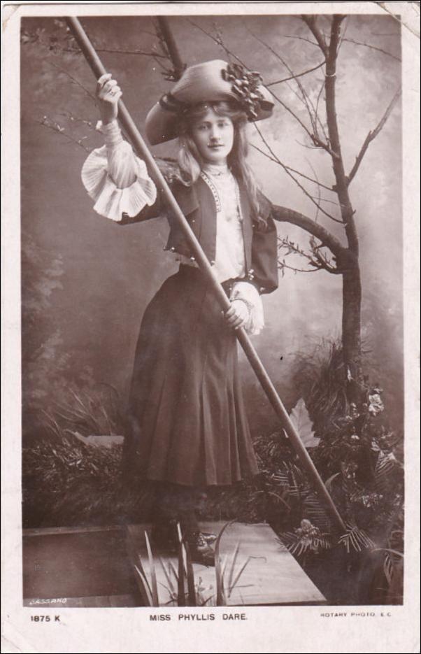RP: Actress Miss Phyllis Dare , PU-1906