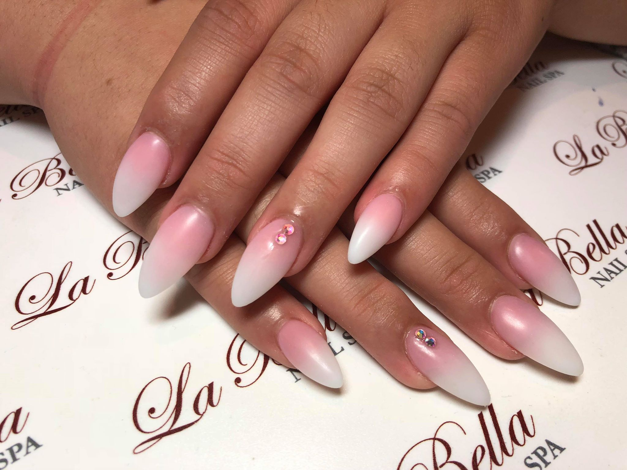 We Love How Classic La Bella S Light Pink Manicures Are Pink Manicure Bella Nails Dream Nails