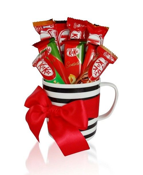 Kit Kat Gift Mug Free Next Day Delivery To Dubai