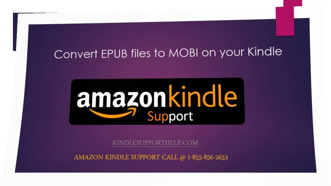 Now you can convert your EPUB format files to MOBI format