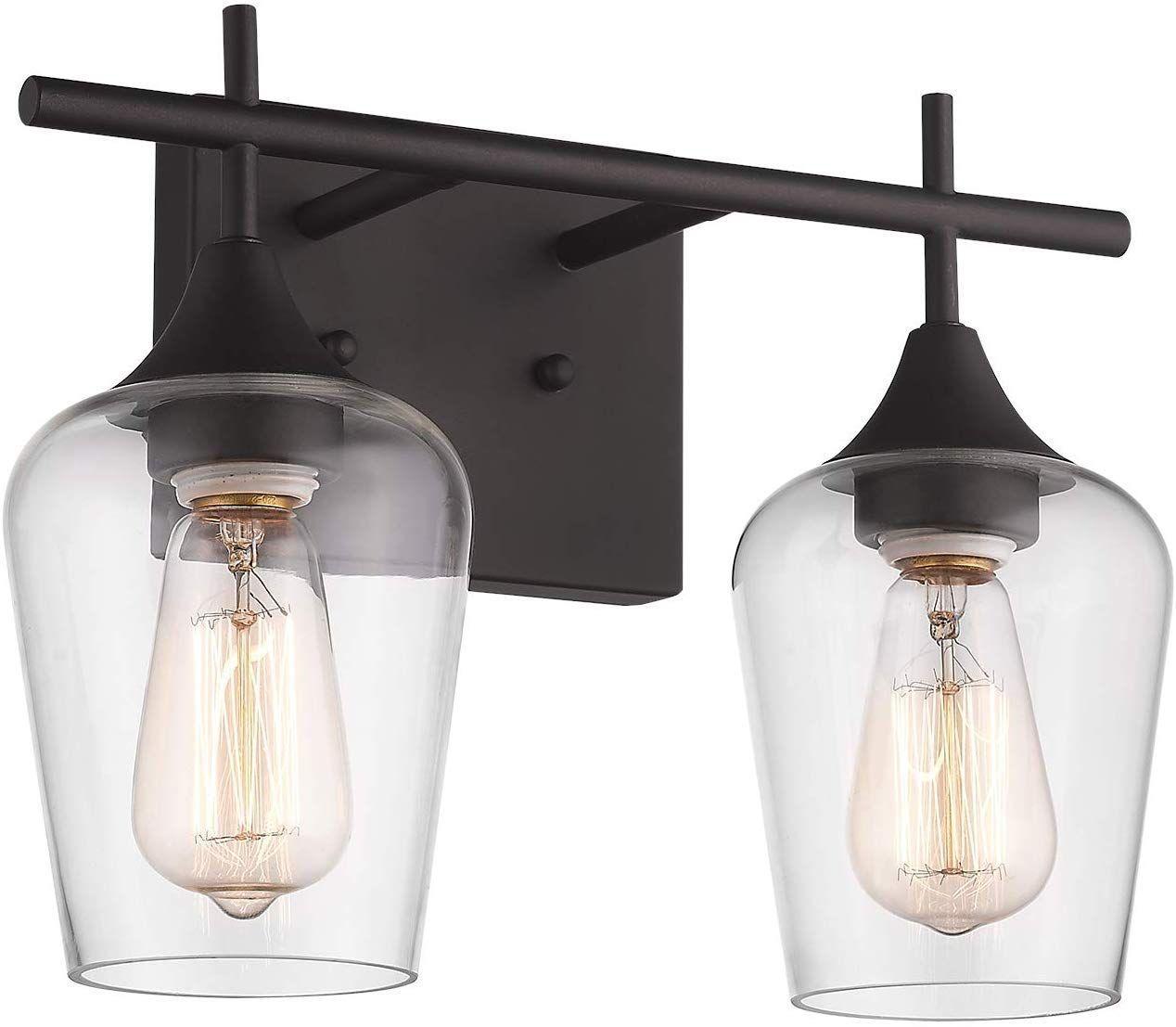 Osimir 2 Light Bathroom Vanity Light Fixtures Vintage Indoor Wall Lamp Lantern 2lig In 2020 Light Fixtures Bathroom Vanity Vanity Light Fixtures Bathroom Lighting