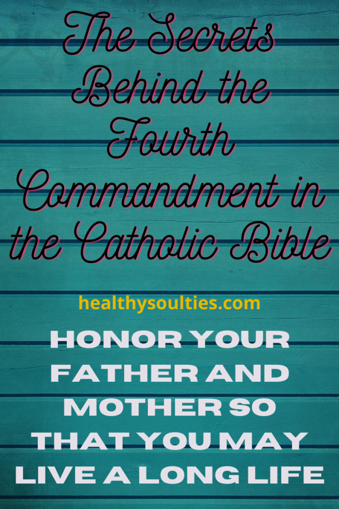 Fourth Commandment Catholic : fourth, commandment, catholic, CATHOLIC, HOMEMAKER, Father,, Fourth, Commandment,, Longer