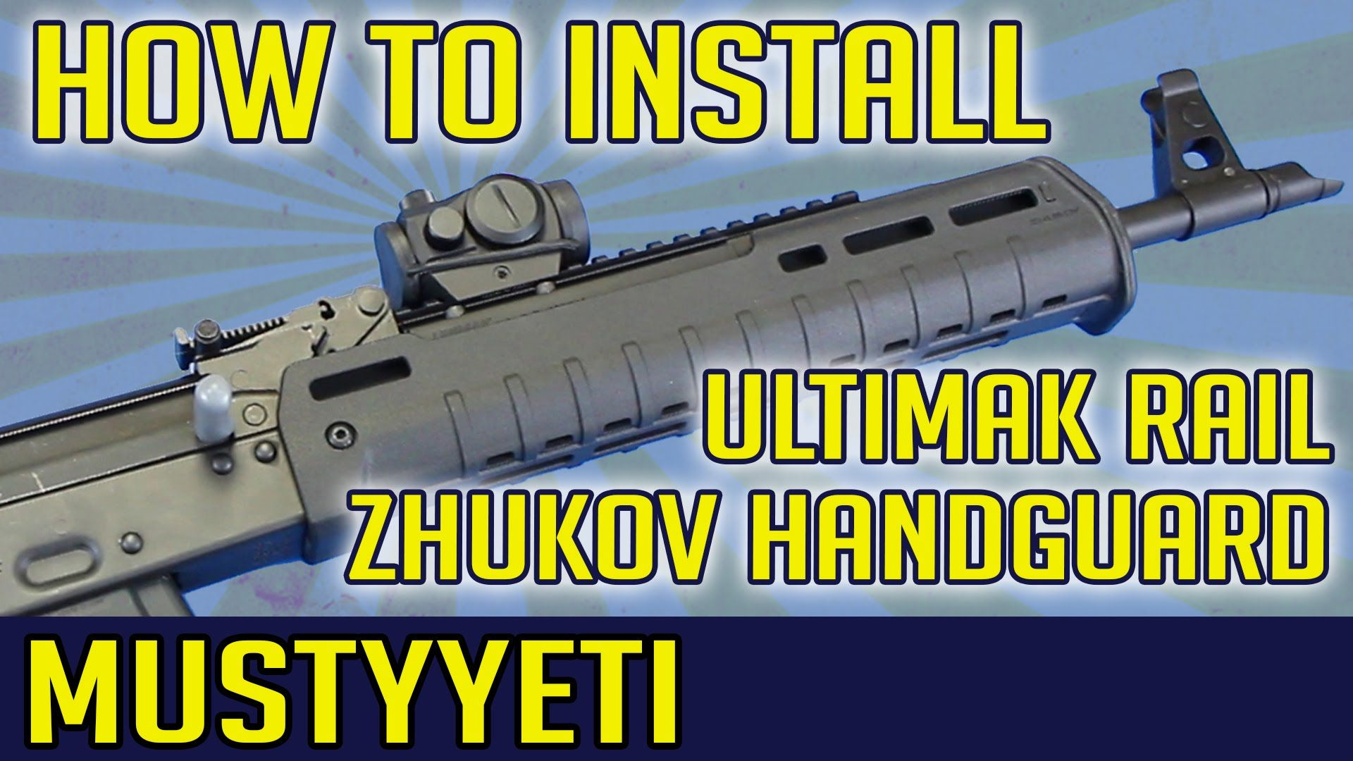HOW TO INSTALL UltiMAK Rail with Magpul Zhukov Handguard
