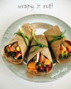 Przepis Na Domowe Wrapy Z Tortilli Roti Na Zimno Z Warzywami
