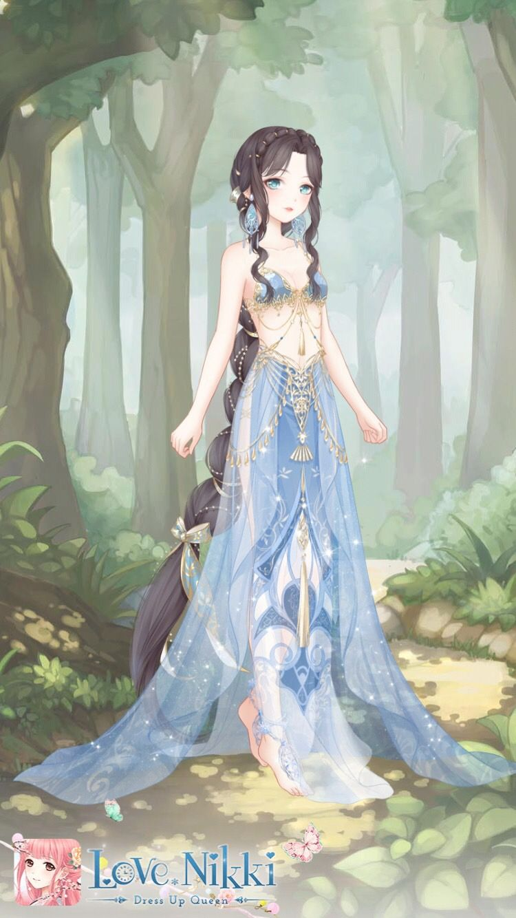 Love Nikki dress up queen Art girl, Egypt dress
