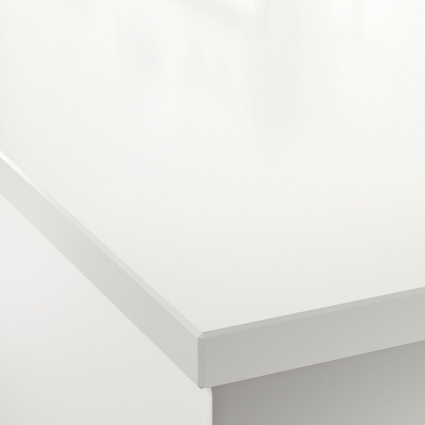 Oxsten Massarbeitsplatte Weiss Steinkomposit Ikea Osterreich In 2020 Ikea Steinmehl Und Arbeitsplatte