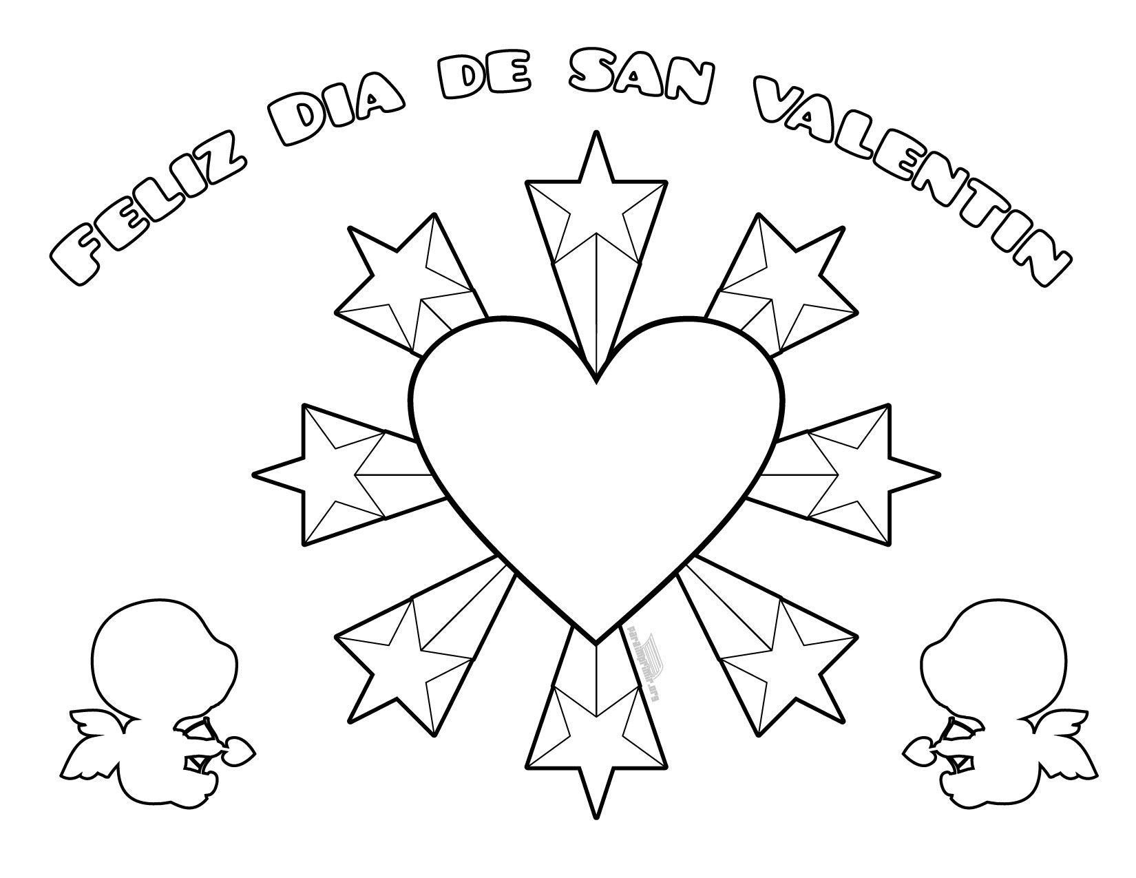 Imagenes Del Dia De San Valentin Para Colorear Imagenes Del Dia