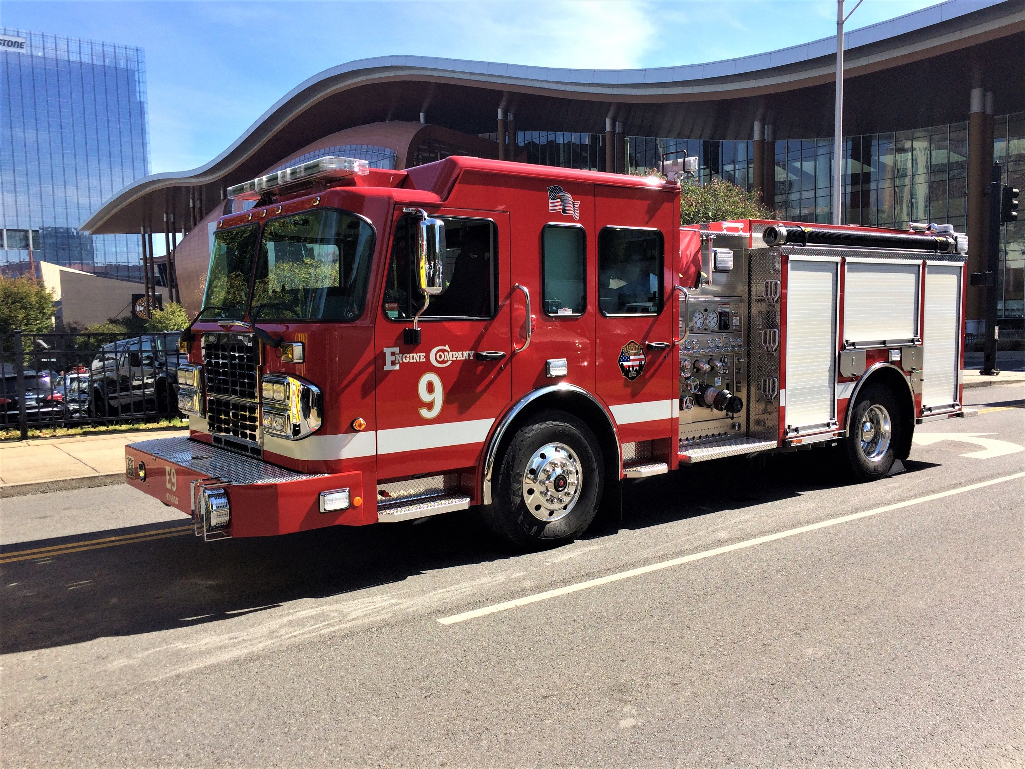 medium resolution of nashville fire department engine 9 2017 spartan toyne 1500 750