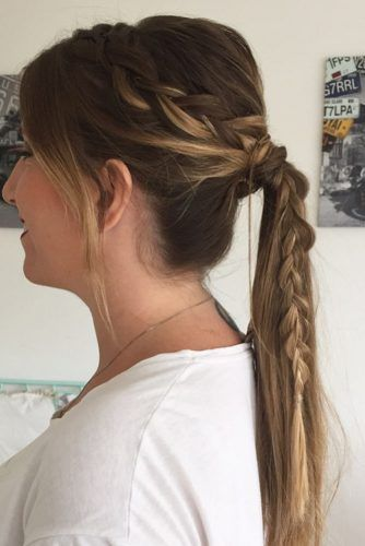 Ponytail Hairstyles Wear These 36 Sporty Ponytail Hairstyles To The Gym  Sporty