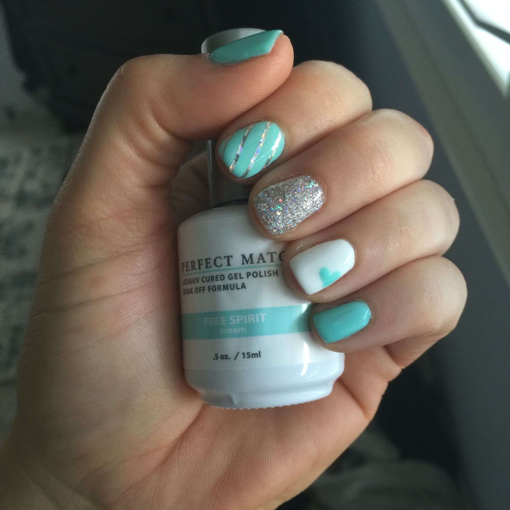 LeChat Perfect Match Free Spirit & Hologram Diamond Gel Nail ...