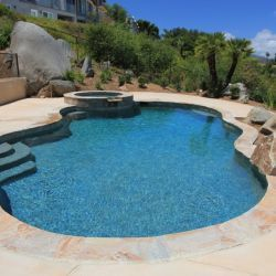 Tahoe Blue Pool Landscaping Luxury Swimming Pools Backyard Pool