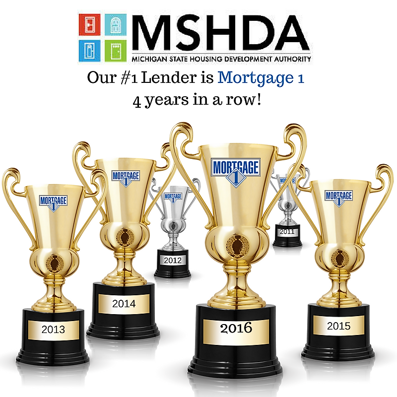 MSHDA 2016 TOP PRODUCING LENDER AND LOAN OFFICERS