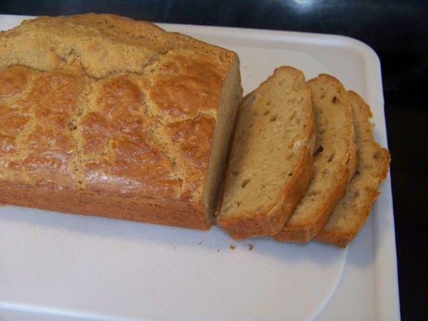 Low Carb Peanut Flour Bread / #lowcarb shared on https://facebook.com/lowcarbzen