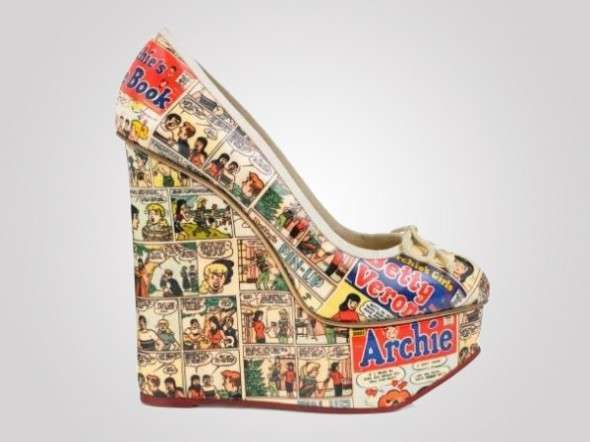 Comic Book Wedges - These Archie Comic Heels Will Make You Feel Like Betty or Veronica