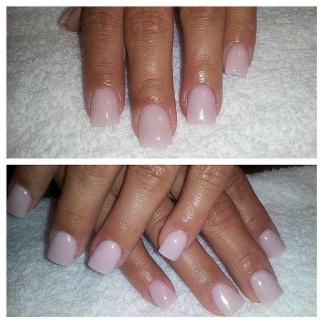 cover up light pink nails by angela w pink and white