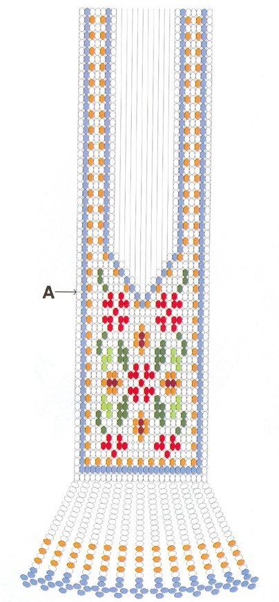 Гердан схема браслет