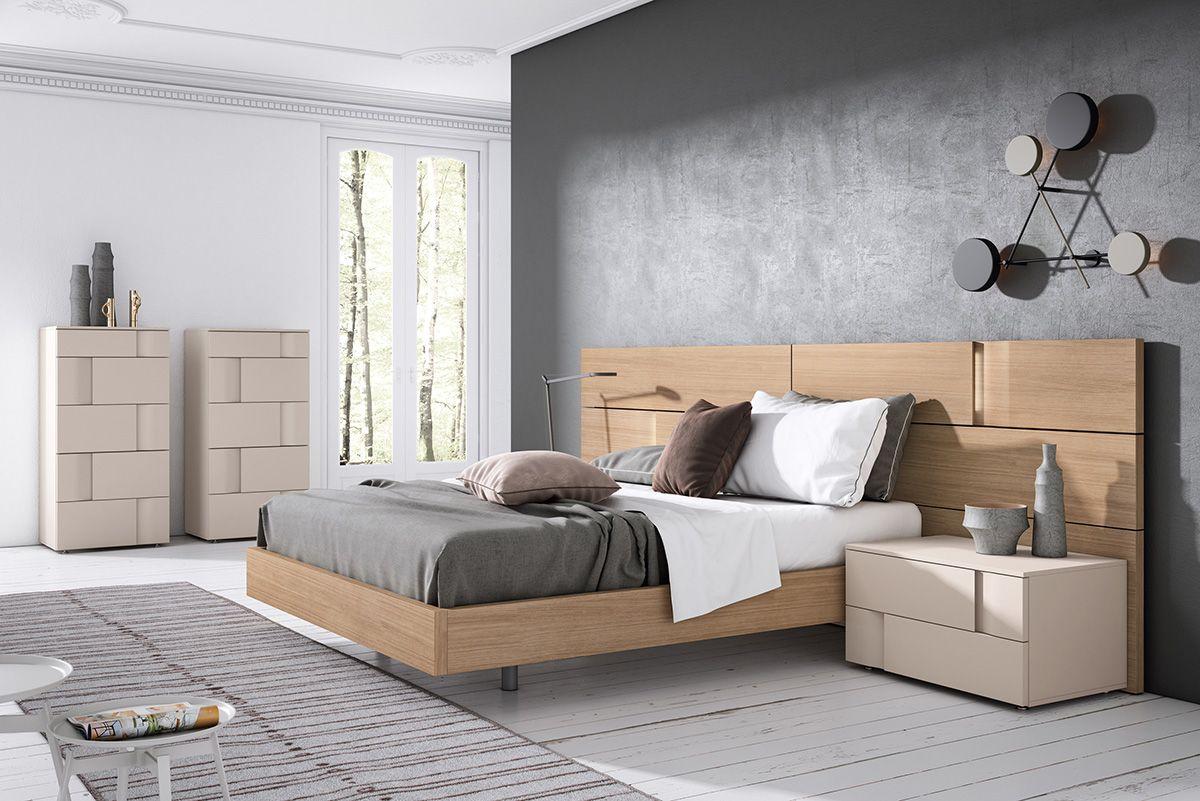 Gráfika bedrooms COMP / 011 Roble / Almendra lacado | Camas ...