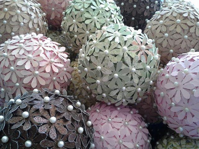 Pomander Balls and Wedding Centerpiece