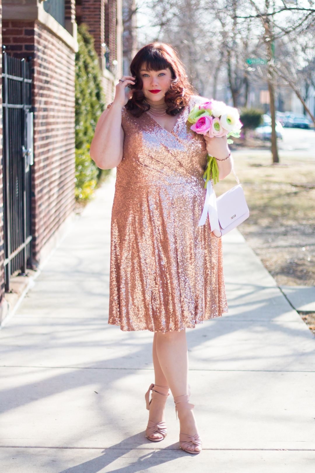 whats your plus size valentines day style if its pink and sparkly this is