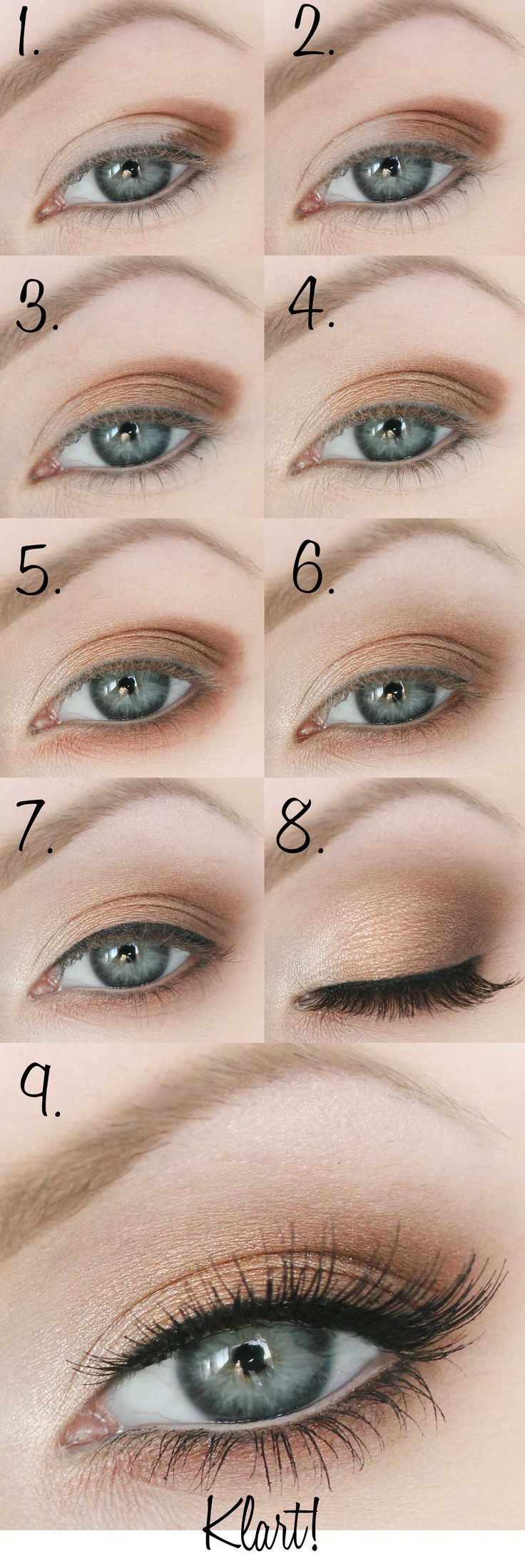 Photo of Tutorial for a beautiful daylight makeup in natural colors ♥ – Mak …