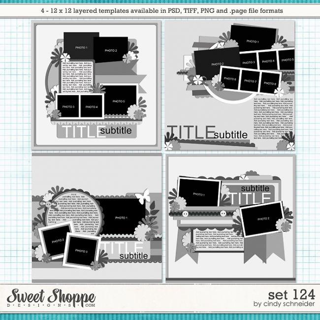 Cindy's Layered Templates - Set 124 by Cindy Schneider