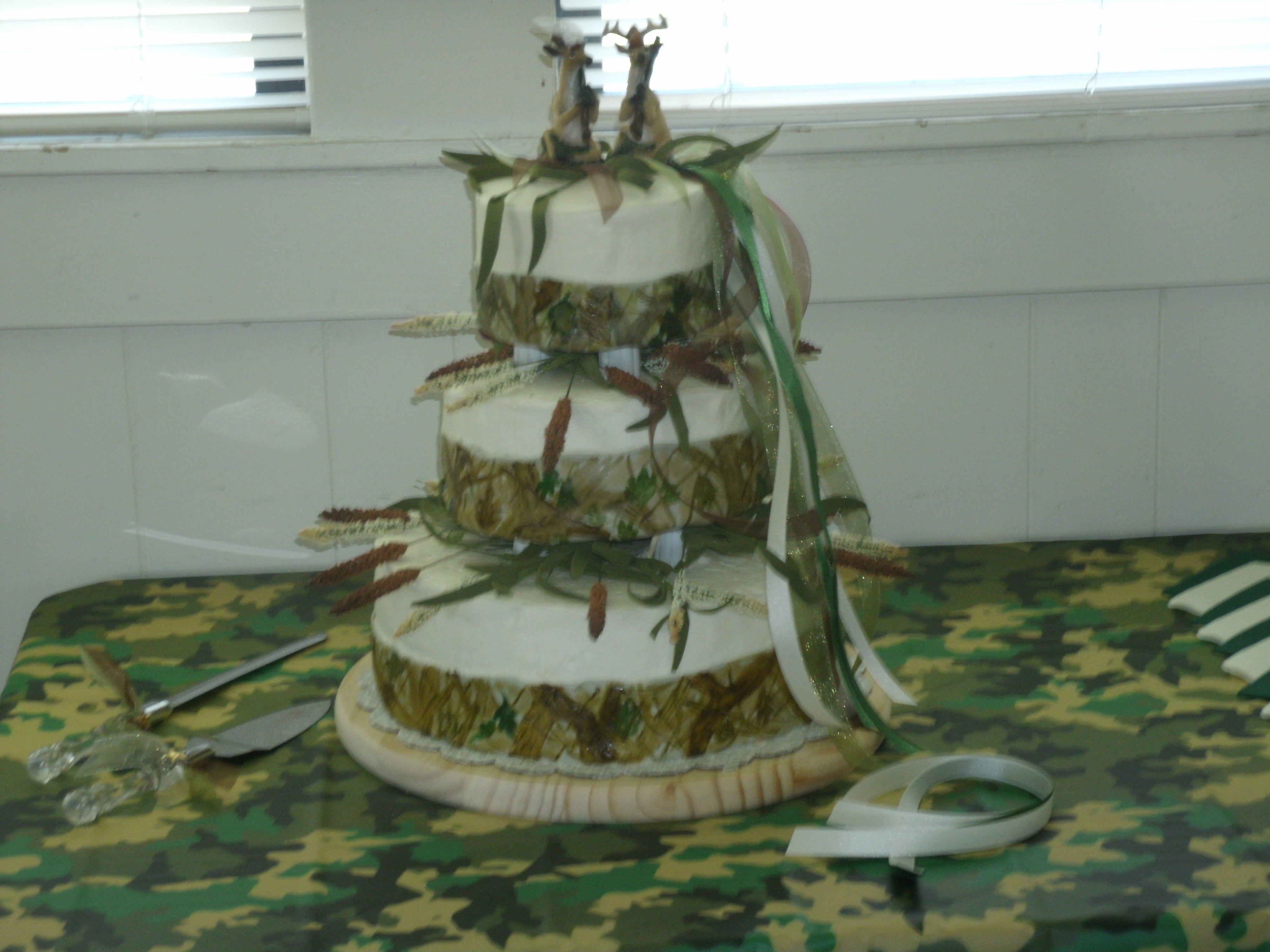 Camo Wedding Decorations Cake Ideas And Designs