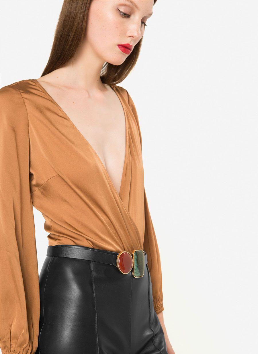803b4c3ca80 Camisa devoré   Fashion Inspiration   Camisas, Body y España