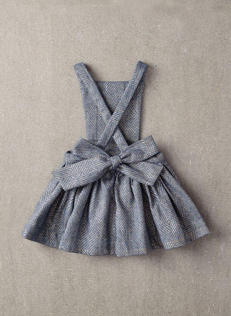 Nellystella Ella Dress in Light Grey Foil - N15F012 - PRE-ORDER ...