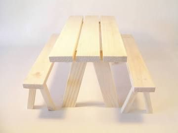 Unfinished Doll Furniture 18 Inch Dolls