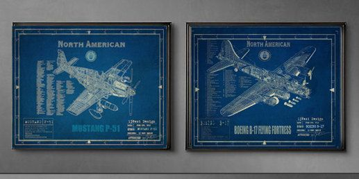 Pin On Vintage Aviation Blueprints