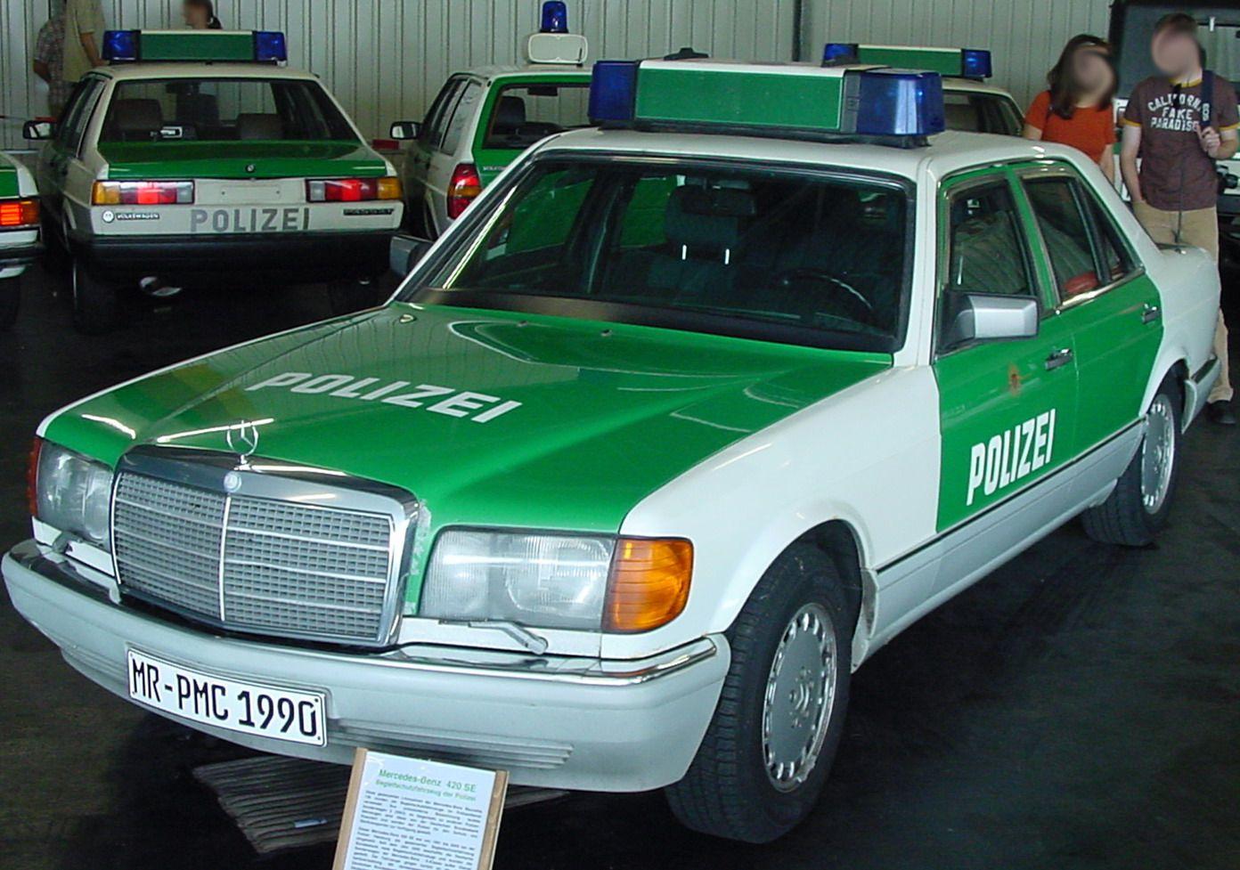 OG | Mercedes-Benz S-Class W126 | #Polizei