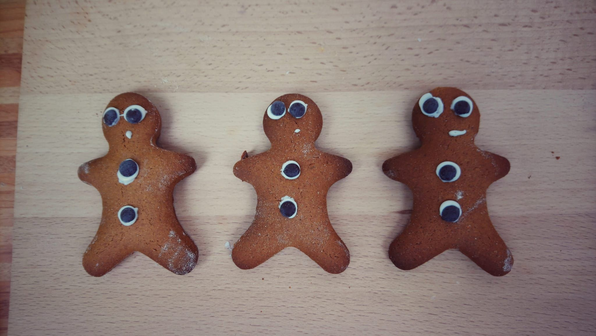 lebkuchen männchen  weihnachtsdeko basteln lebkuchen