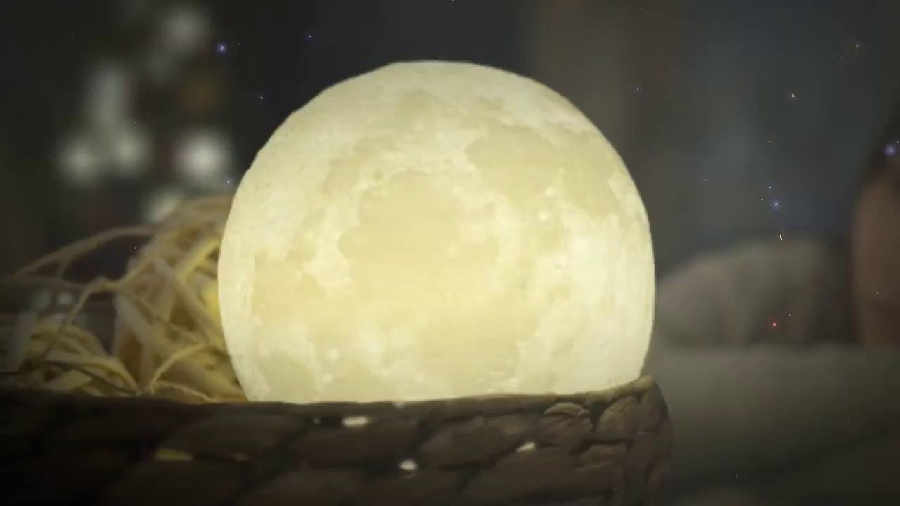 3d Print Moon Lamp Star Elegant Com Lighting Gifts Amazing 3d Printing Luna Moon Impact Crater