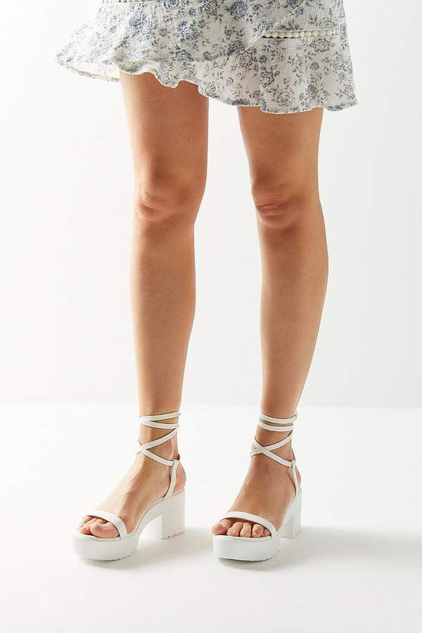 38f51967347 Urban Outfitters Claire Lace-Up Platform Sandal in 2019 | Products ...