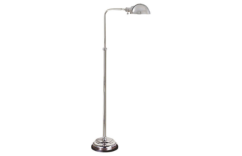 Apothecary floor lamp polished nickel visual comfort