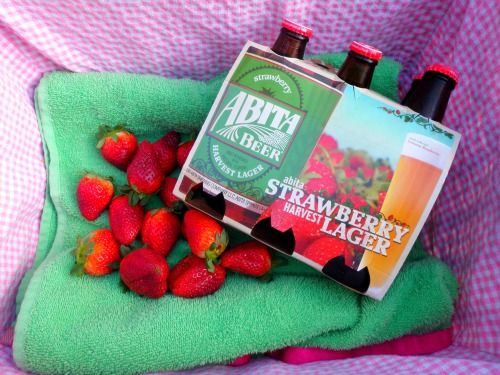 Delicious Abita Strawberry Harvest Lager!!!!