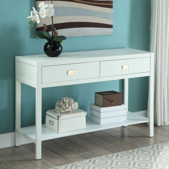 Linon Home Peggy Console Table Living RoomLiving