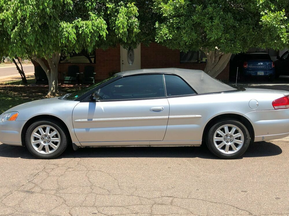 Ebay Advertisement 2005 Chrysler Sebring Gtc 2005 Chrysler