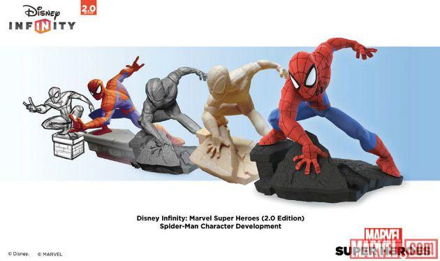 disney infinity - spiderman