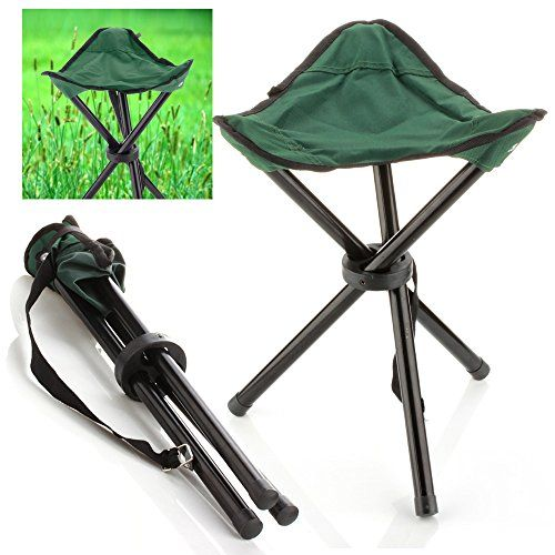 Introducing C&ing Folding Stool Green Portable 3 Legs Chair Tripod Seat For Outdoor Hiking Fishing Picnic  sc 1 st  Pinterest & Introducing Camping Folding Stool Green Portable 3 Legs Chair ... islam-shia.org