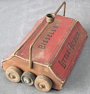 Vintage Bissell S Little Helper Toy Carpet Sweeper