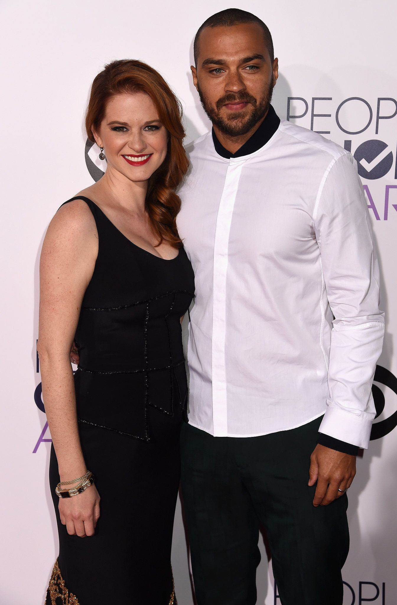 Sarah Drew and Jesse Williams | Actors | Pinterest | Jesse williams ...