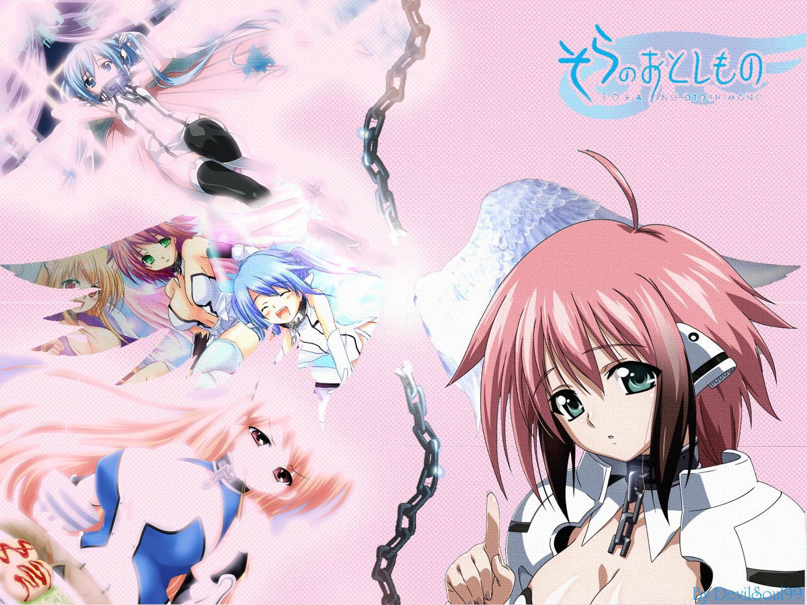 Sora No Otoshimono Wallpaper 1600x1200 Anime Life Anime Anime Characters