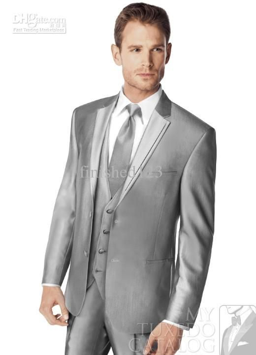 Cheap Wedding Suits - Discount Color Notch Lapel Groom Tuxedos ...