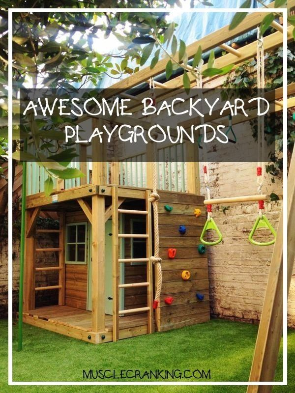 Awesome Backyard Playgrounds 2021   1000 in 2020 ...