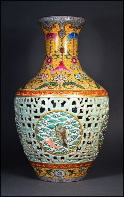 Pinner Qing Dynasty Vase St Expensive Vase In The World Worth