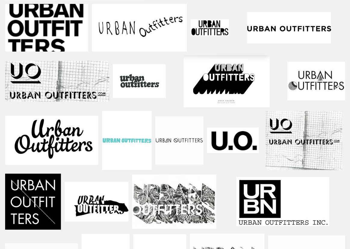 Urban Outfitters Multiple Logos Urban Outfits Outfitter Urban Outfitters